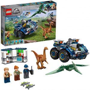 Sets de LEGO de Jurassic World - Juguete de construcción de LEGO de Jurassic World 75940 Fuga del Gallimimus y el Pteranodon