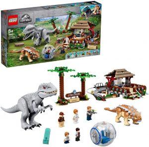 Sets de LEGO de Jurassic World - Juguete de construcción de LEGO de Jurassic World 75941 Indominus Rex vs Ankylosaurus