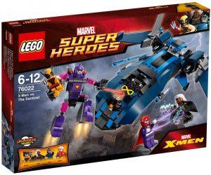 Sets de LEGO de Lobezno - Juguete de construcción de LEGO de Lobezno vs The Sentinel 76022