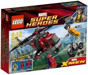 Sets de LEGO de Lobezno - Juguete de construcción de LEGO de Lobezno y el Helicóptero de Deadpool 6866