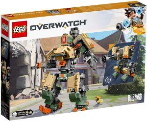 Sets de LEGO de Overwatch de Blizzard - Juguete de construcción de LEGO de Bastion 75974 de Overwatch