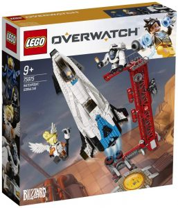 Sets de LEGO de Overwatch de Blizzard - Juguete de construcción de LEGO de Observatorio Gibraltar 75975 de Overwatch