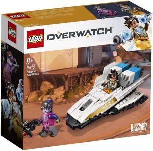 Sets de LEGO de Overwatch de Blizzard - Juguete de construcción de LEGO de Tracer vs Widowmaker 75970 de Overwatch