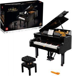 Sets de LEGO de Piano - Juguete de construcción de LEGO Creator de Gran Piano de cola 21323