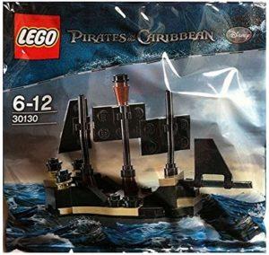 Sets de LEGO de Piratas del Caribe - Juguete de construcción de LEGO de Piratas del Caribe 30130 La Perla Negra Mini