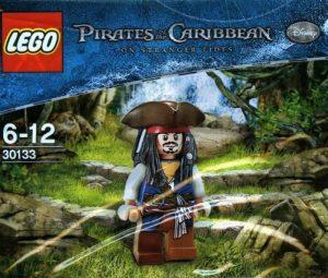 Sets de LEGO de Piratas del Caribe - Juguete de construcción de LEGO de Piratas del Caribe 30133 Jack Sparrow
