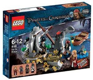 Sets de LEGO de Piratas del Caribe - Juguete de construcción de LEGO de Piratas del Caribe 4181 Isla de Muerta