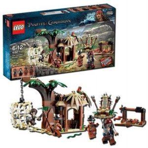 Sets de LEGO de Piratas del Caribe - Juguete de construcción de LEGO de Piratas del Caribe 4182 La Huída del Poblado Caníbal