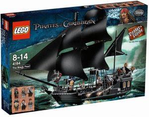 Sets de LEGO de Piratas del Caribe - Juguete de construcción de LEGO de Piratas del Caribe 4184 La Perla Negra