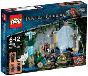 Sets de LEGO de Piratas del Caribe - Juguete de construcción de LEGO de Piratas del Caribe 4192 La Fuente de la Juventud