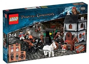 Sets de LEGO de Piratas del Caribe - Juguete de construcción de LEGO de Piratas del Caribe 4193 Huída en Londres