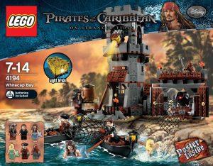 Sets de LEGO de Piratas del Caribe - Juguete de construcción de LEGO de Piratas del Caribe 4194 La bahía Whitecap