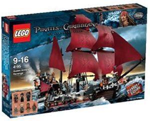 Sets de LEGO de Piratas del Caribe - Juguete de construcción de LEGO de Piratas del Caribe 4195 La Venganza de la Reina Ana