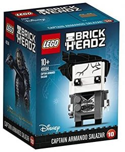 Sets de LEGO de Piratas del Caribe - Juguete de construcción de LEGO de Piratas del Caribe 45194 Capitán Armando Salazar