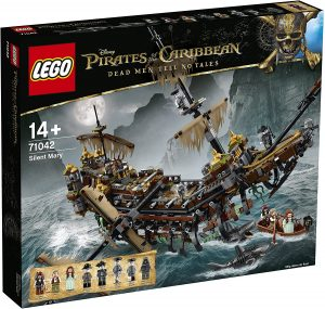 Sets de LEGO de Piratas del Caribe - Juguete de construcción de LEGO de Piratas del Caribe 71042 Silenciosa Mary