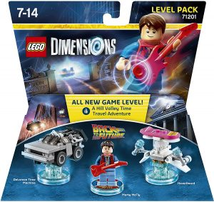 Sets de LEGO de Regreso al Futuro - Back to the Future - Juguete de construcción de LEGO Dimensions 71201 de Marty Mcfly, Delorean y Hoverboard