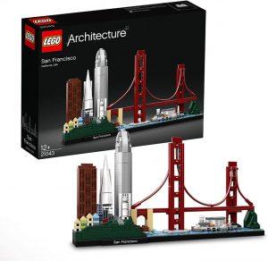 Sets de LEGO de San Francisco - Juguete de construcción de LEGO Architecture de la Ciudad de San Francisco 21043