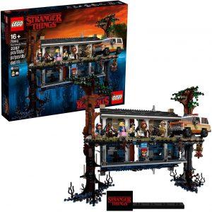 Sets de LEGO de Stranger Things - Juguete de construcción de LEGO de The Upside Down de Stranger Things 75810
