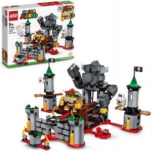 Sets de LEGO de Super Mario Bros - Juguete de construcción de LEGO de Super Mario de Batalla Final en el Castillo de Bowser de 71369 - Set de Expansión de Super Mario