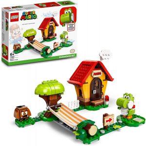 Sets de LEGO de Super Mario Bros - Juguete de construcción de LEGO de Super Mario de Casa y Yoshi 71367 - Set de Expansión de Super Mario