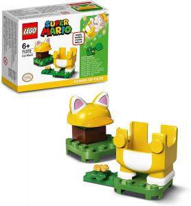Sets de LEGO de Super Mario Bros - Juguete de construcción de LEGO de Super Mario de Disfraz Felino de 71372 - Set Potenciador de Super Mario