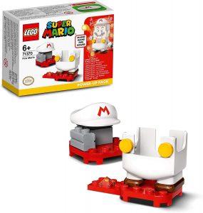 Sets de LEGO de Super Mario Bros - Juguete de construcción de LEGO de Super Mario de Disfraz Fuego de 71370 - Set Potenciador de Super Mario