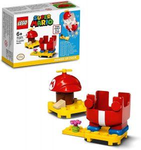 Sets de LEGO de Super Mario Bros - Juguete de construcción de LEGO de Super Mario de Disfraz Helicóptero de 71371 - Set Potenciador de Super Mario