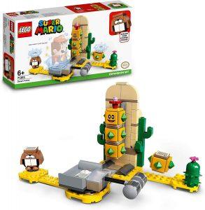 Sets de LEGO de Super Mario Bros - Juguete de construcción de LEGO de Super Mario de Pokey del Desierto de 71363 - Set de Expansión de Super Mario