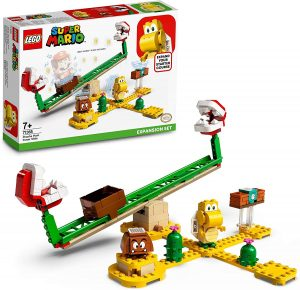 Sets de LEGO de Super Mario Bros - Juguete de construcción de LEGO de Super Mario de Superderrape de la Planta Piraña de 71365 - Set de Expansión de Super Mario