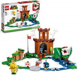 Sets de LEGO de Super Mario Bros - Juguete de construcción de LEGO de Super Mario de la Fortaleza Acorazada 71362 - Set de Expansión de Super Mario