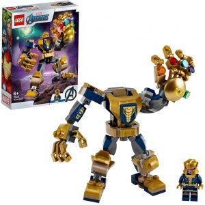 Sets de LEGO de Thanos - Juguete de construcción de LEGO de Armadura de Thanos Tech 76141