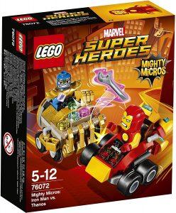 Sets de LEGO de Thanos - Juguete de construcción de LEGO de Mighty Micros de Thanos vs Iron Man 76072