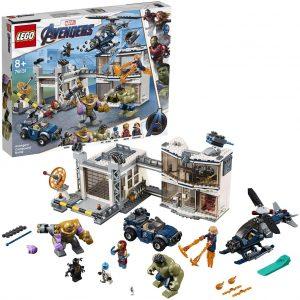 Sets de LEGO de Thanos - Juguete de construcción de LEGO de Thanos de Batalla en el Complejo de los Vengadores 76131