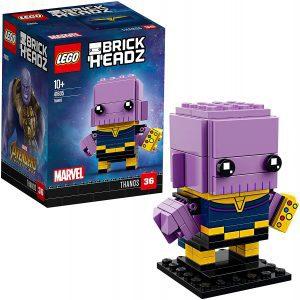 Sets de LEGO de Thanos - Juguete de construcción de LEGO de Thanos de BrickHeadz 41605