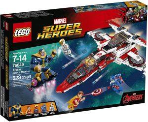 Sets de LEGO de Thanos - Juguete de construcción de LEGO de Thanos de misión espacial 76049