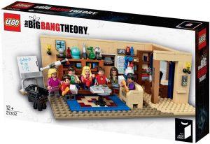 Sets de LEGO de The Big Band Theory - Juguete de construcción de LEGO del salón de The Big Band Theory 21302