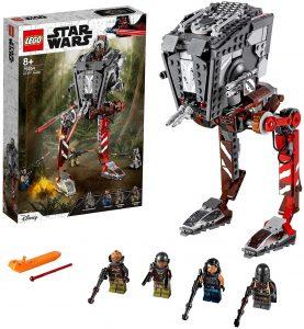 Sets de LEGO de The Mandalorian de Star Wars - Juguete de construcción de LEGO de The Mandalorian de Asaltador AT-ST 76254