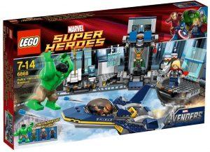 Sets de LEGO de Thor - Juguete de construcción de LEGO de Ataque de Hulk al Helitransporte 6868
