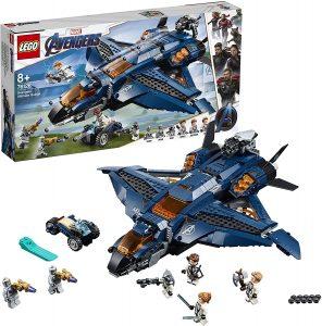 Sets de LEGO de Thor - Juguete de construcción de LEGO de Avión de Combate de los Vengadores 76126