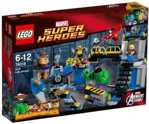 Sets de LEGO de Thor - Juguete de construcción de LEGO de El Ataque al Laboratorio de Hulk 76018