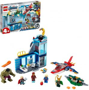 Sets de LEGO de Thor - Juguete de construcción de LEGO de Ira de Loki 76152