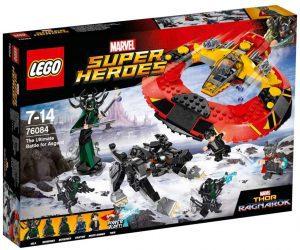 Sets de LEGO de Thor - Juguete de construcción de LEGO de La Batalla definitiva por Asgard 76084