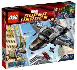 Sets de LEGO de Thor - Juguete de construcción de LEGO de Quinjet Aerial Battle 6869