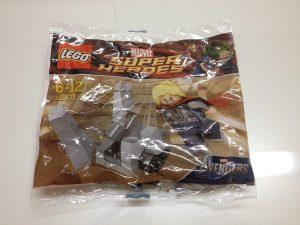 Sets de LEGO de Thor - Juguete de construcción de LEGO de Thor y el Cubo Cósmico 30163