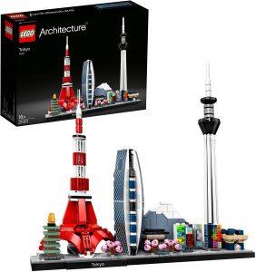Sets de LEGO de Tokio - Juguete de construcción de LEGO Architecture de la Ciudad de Tokio 21051