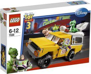 Sets de LEGO de Toy Story 3 - Juguete de construcción de LEGO de Toy Story de La Carrera en la camioneta de Pizza Planet 7598