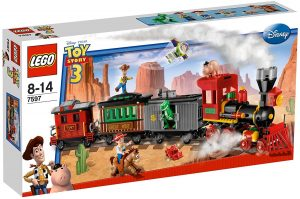 Sets de LEGO de Toy Story 3 - Juguete de construcción de LEGO de Toy Story del Tren del Oeste 7597