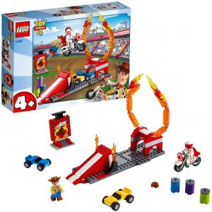 Sets de LEGO de Toy Story 4 - Juguete de construcción de LEGO de Toy Story de Espectáculo Acrobático de Duke Caboom 10767