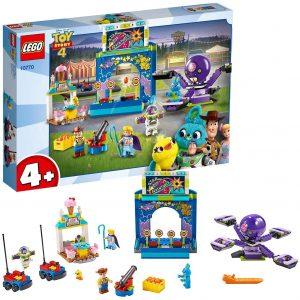 Sets de LEGO de Toy Story 4 - Juguete de construcción de LEGO de Toy Story de Alegre Tren de la Feria 10771