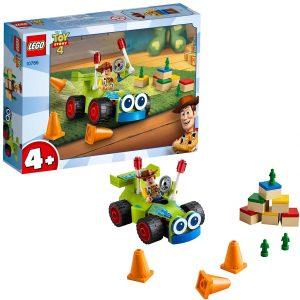 Sets de LEGO de Toy Story 4 - Juguete de construcción de LEGO de Toy Story de Woody y RC 10766